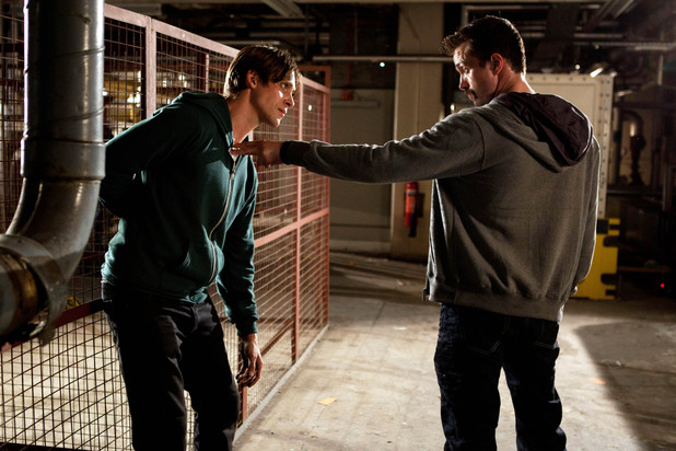 Brendan confronts Walker in Hollyoaks