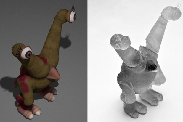 Game characters made real with 3D printing