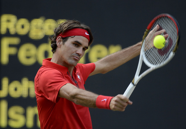 Roger Federer, men's tennis quarter-finals