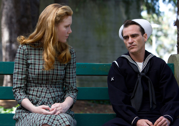 Madisen Beaty and Joaquin Phoenix in 'The Master'