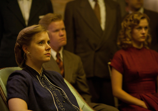 Amy Adams and Jesse Plemons in 'The Master'