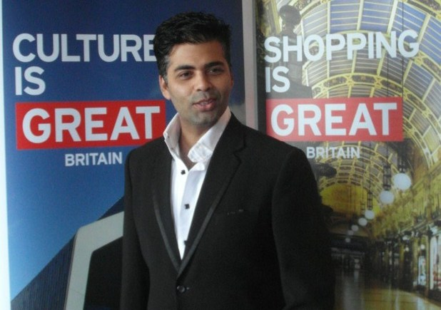 Karan Johar, Visit Britain promo day - July 2012