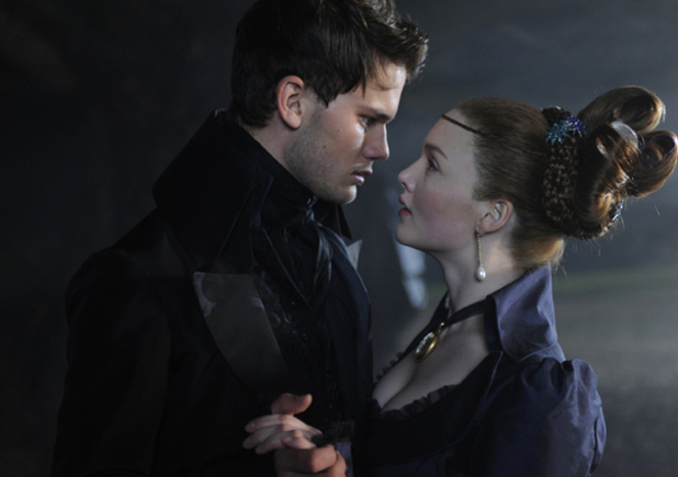 Jeremy Irvine and Holliday Grainger
