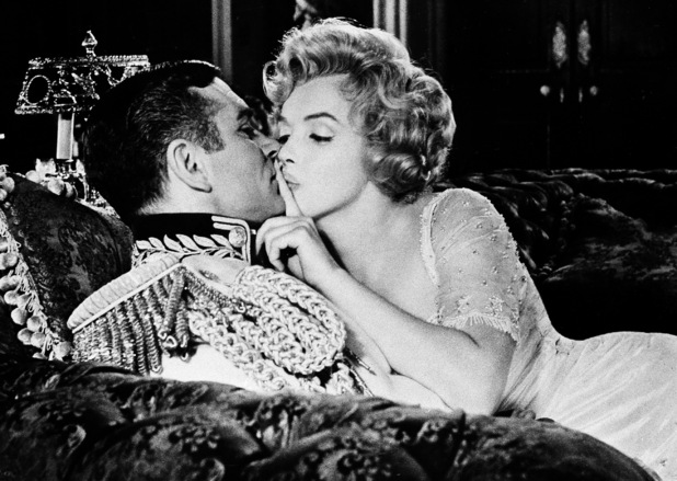 Marilyn Monroe and Sir Laurence Olivier