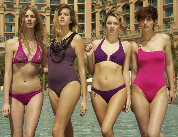 Britain and Ireland's Next Top Model 2012 - Anna V, Jennifer, Penny & Anne W