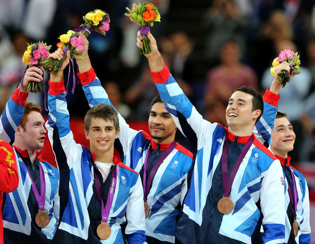 Team GB gymnasts