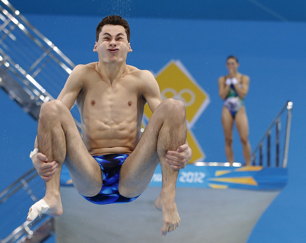 Next German Diver Sascha Klein Trains The Aquatics Centre