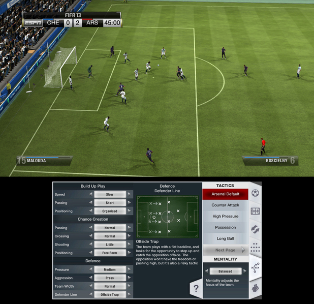 FIFA 13 Wii U screenshot