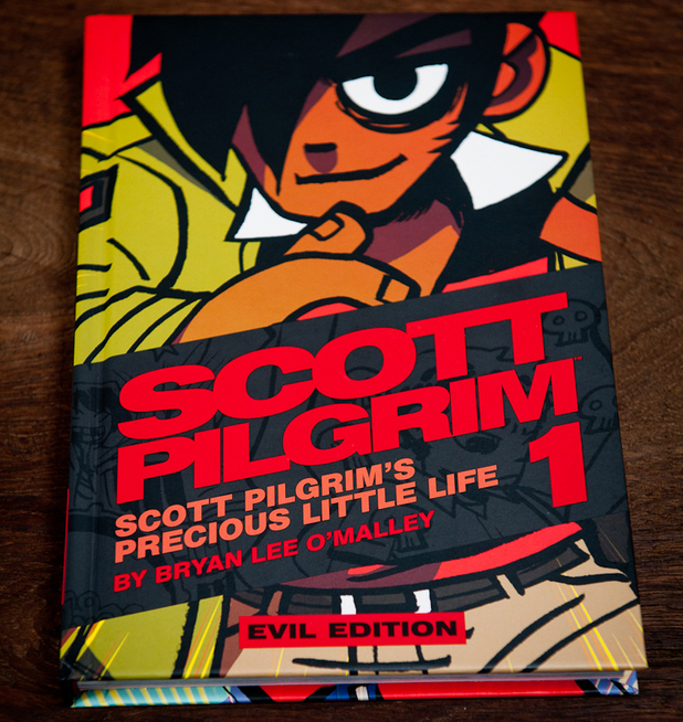 'Scott Pilgrim' colour edition