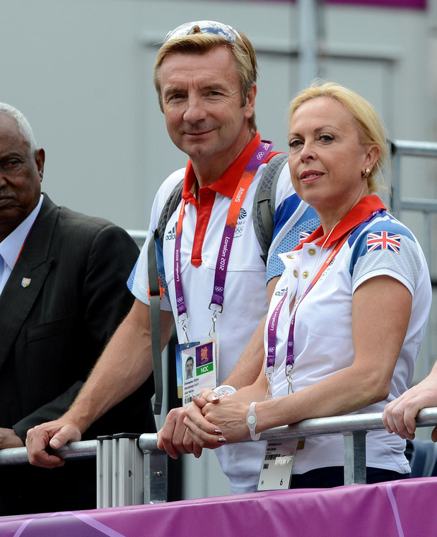 London 2012 Olympics - Celebrity Appearances