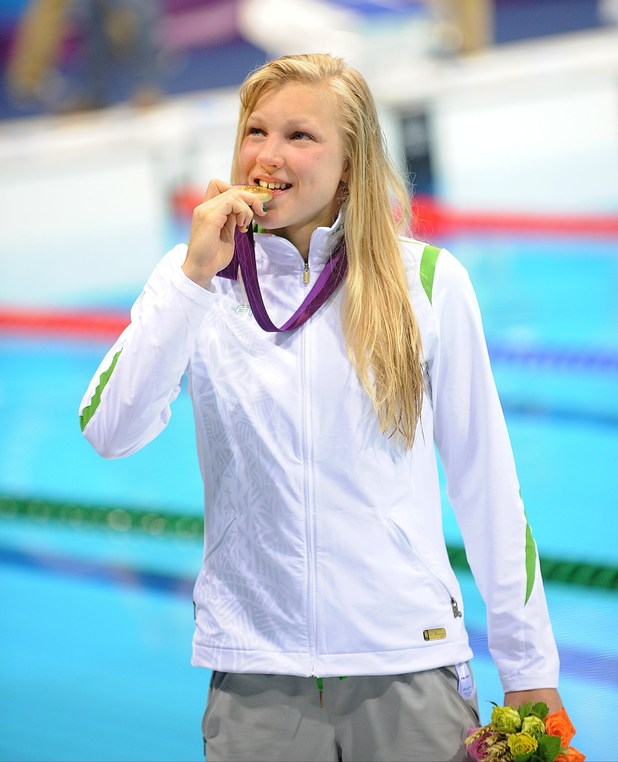 Lithuania's Ruta Meilutyte