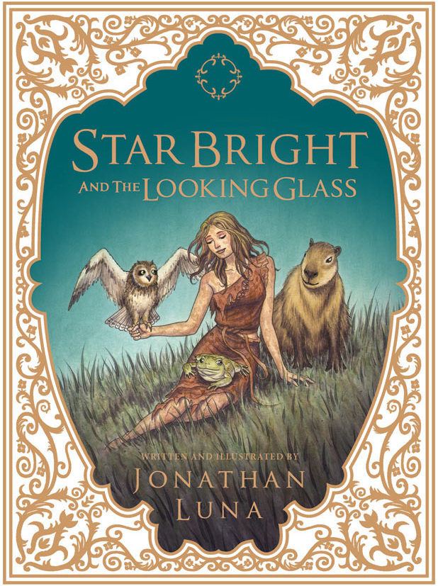 'Star Bright and the Looking Glass' cover