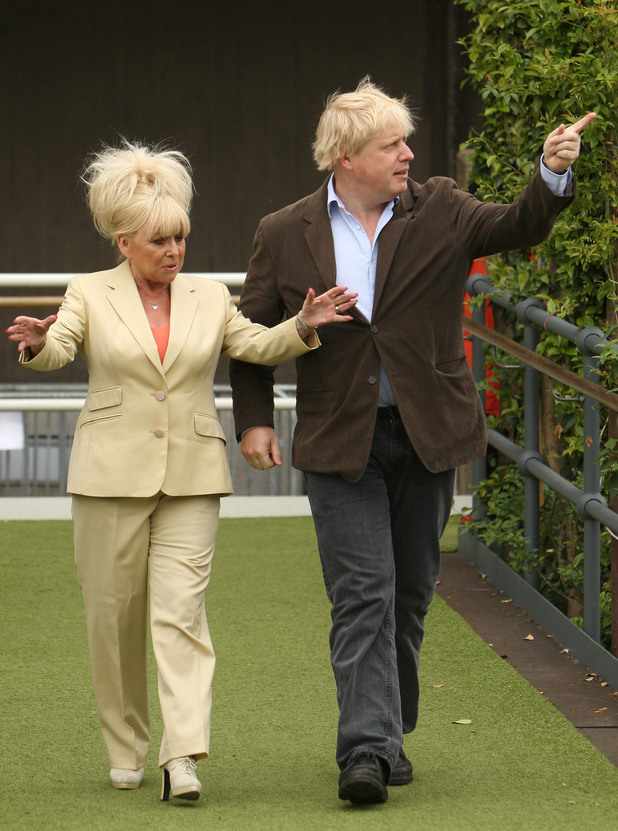 Boris Johnson, Barbara Windsor