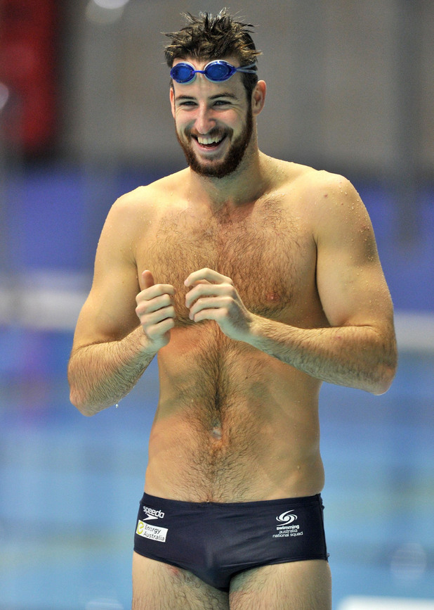 Australia's James Magnussen, Australian swimmer, London 2012