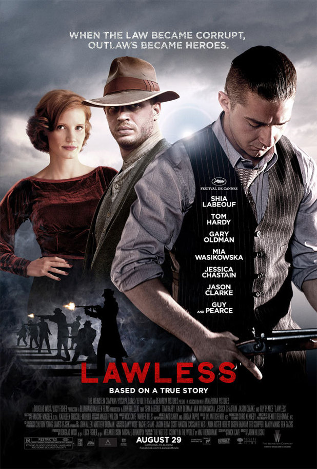 Tom Hardy and Shia LaBeouf in final &#39;Lawless&#39; poster