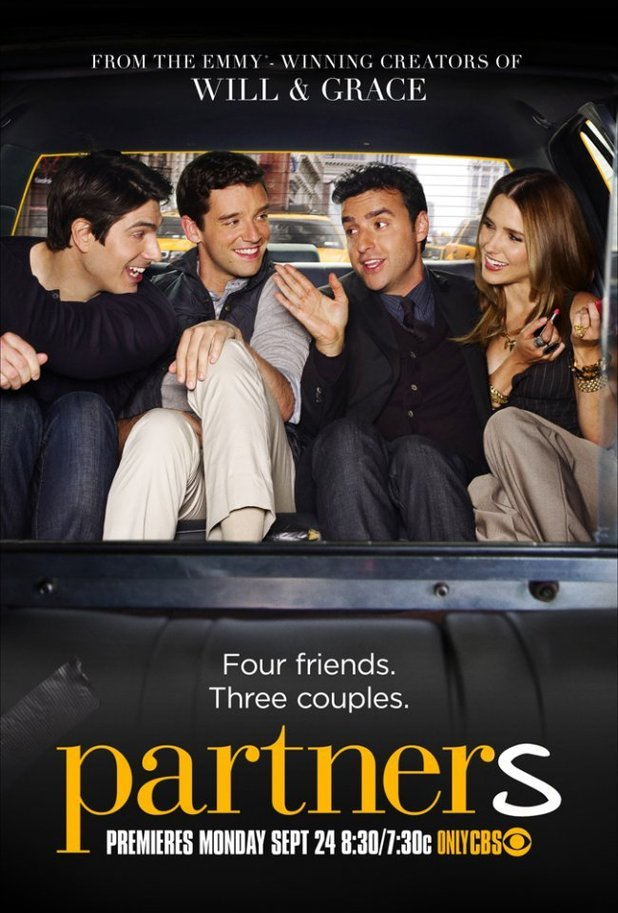 CBS Key Art: 'Partners' poster