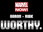 Thor passes to Jason Aaron, Esad Ribic?
