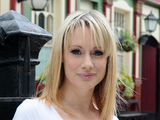 Kellie Shirley as Carly Wicks in EastEnders