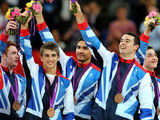 GB's Artistic Gymnastics team, bronze medal, London 2012