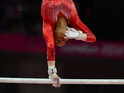 The advert, featuring a monkey gymnast, aired straight after Gabby Douglas's Olympic win.