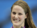 "Missy Franklin says it is ""really special"" to get support from her favorite singer."