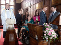 A huge argument ruins baby Joseph's christening in Coronation Street tonight.
