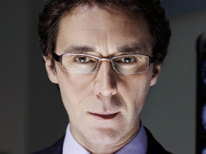 Guy Henry as Henrik Hanssen on Holby City