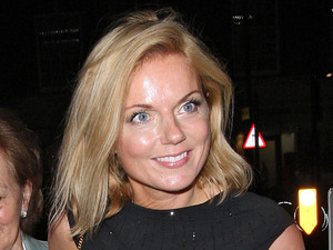 Miss Mode: Geri Halliwell with mum and daughter