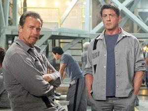 The Tomb - Arnold Schwarzenegger and Sylvester Stallone