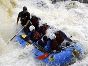 Brave prize: rafting