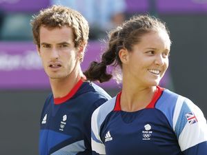Andy Murray and Laura Robson, London 2012