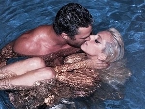 Lady GaGa and Taylor Kinney, celebrity couples, naked, nude