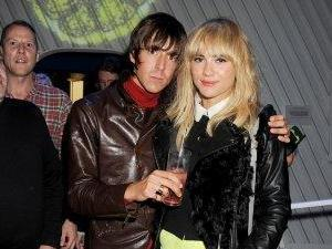 Miles Kane and Suki Waterhouse at Adidas Underground for a surprise one off performance by the legendary Stone Roses
