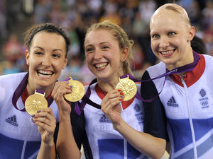 Joanna Roswell, Laura Trott and Dani King: Women's Team Pursuit (Cycling Track)