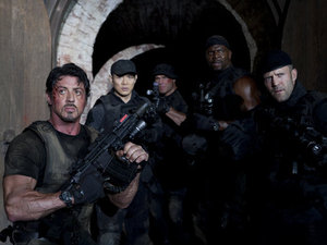 The Expendables 2, Sylvester Stallone, Jason Statham, Jet Li