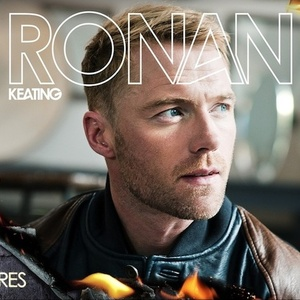 Ronan Keating 'Fires' single artwork.