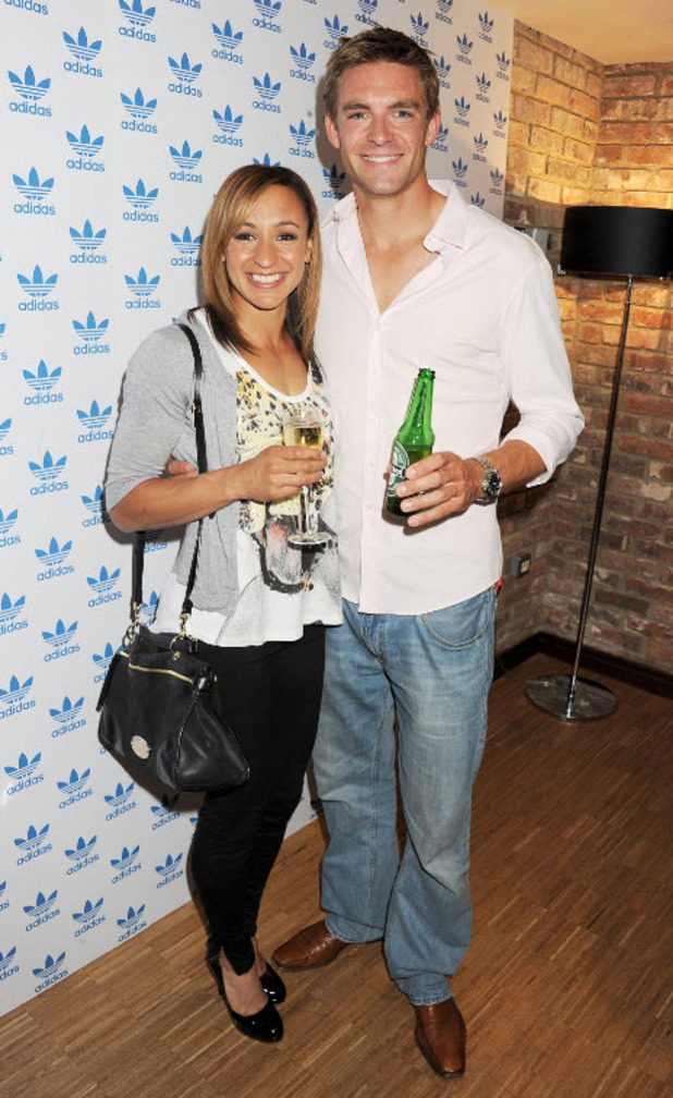 Jessica Ennis and Pete Reed