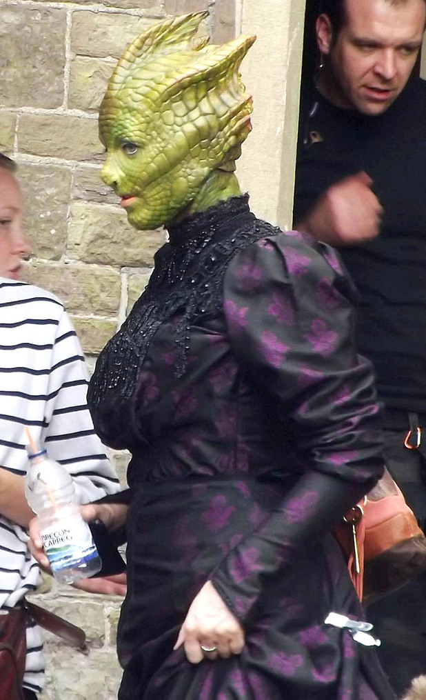 Neve McIntosh as Madame Vastra the Silurian
