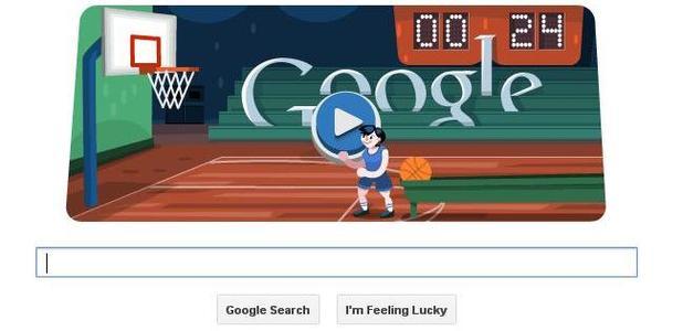 Google Doodle Basketball