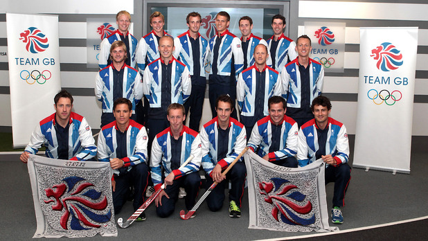 The Great Britain Men's Hockey Team