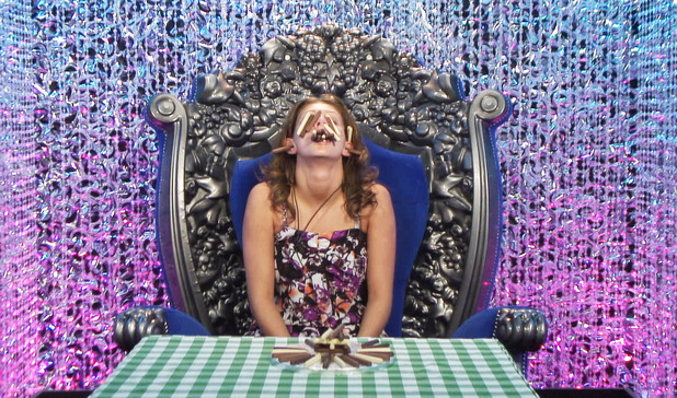 Big Brother 2012: Day 62 - Choccy Chops task