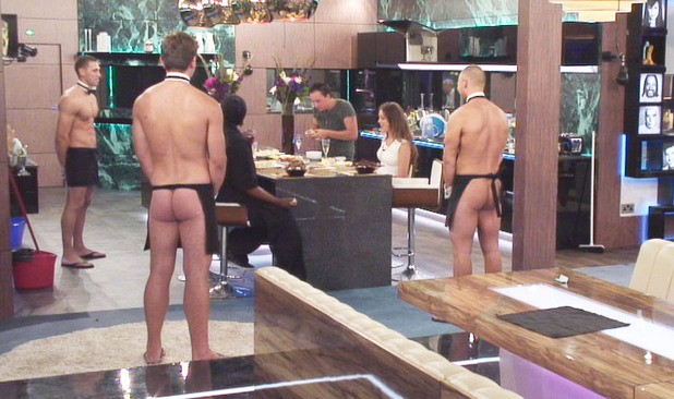 Big Brother 2012 - Day 63: Butlers and housemates