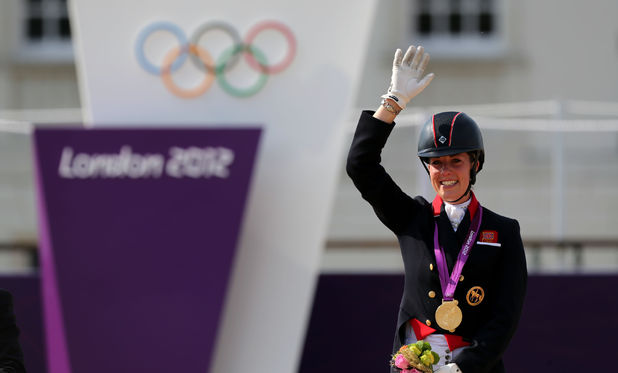 Charlotte Dujardin, individual equestrian dressage gold medal
