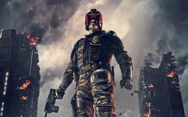 'Dredd 3D' move poster