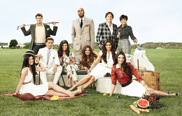 Promotional shot for Keeping Up With The Kardashians