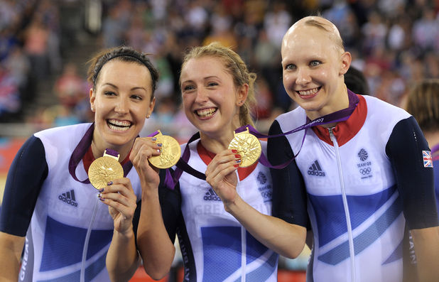Joanna Roswell, Laura Trott and Dani King