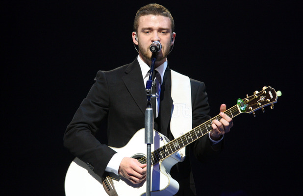 Justin Timberlake performs in concert 