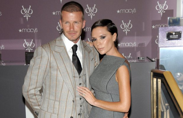 David Beckham and Victoria Beckham David and Victoria Beckham launch their new Beckham Signature Fragrance Collection at Macy's Herald Square - Inside New York City, USA - 26.09.08 Credit: (Mandatory): WENN