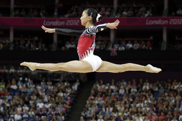 asuka teramoto, gymnastics, London 2012