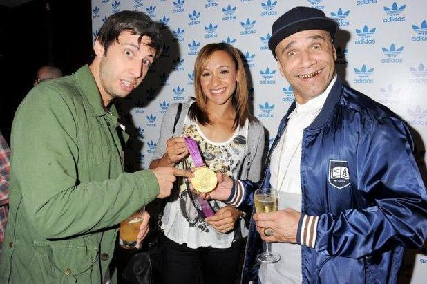 Example, Jessica Ennis and Goldie